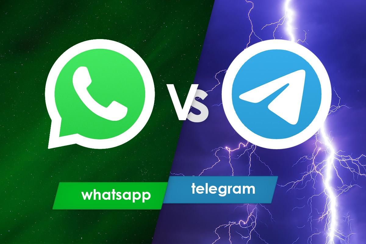 ¿Cuál app es mejor: WhatsApp o Telegram? Éstas son sus similitudes y diferencias