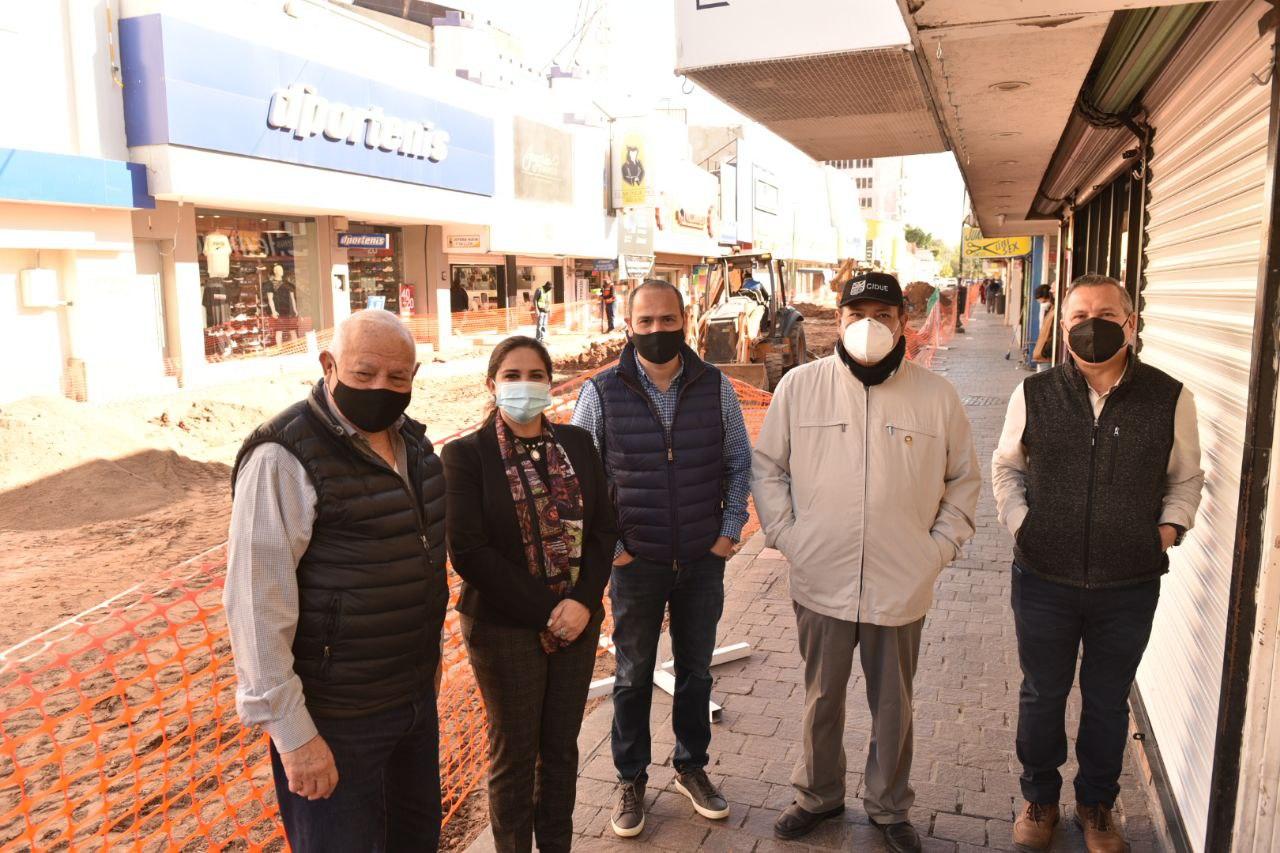 Rescatamos las calles del Centro de Hermosillo: Celida López