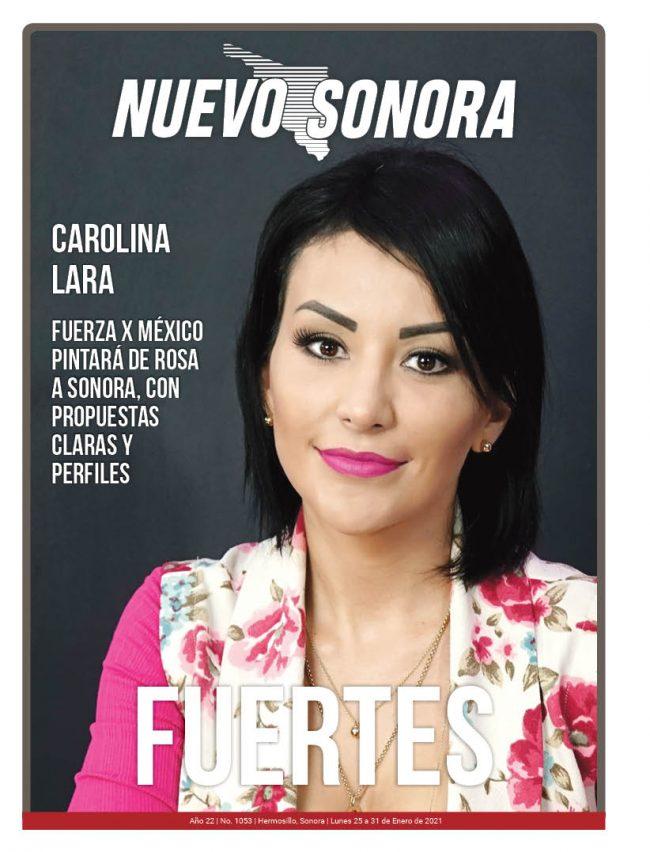 Carolina Lara como portada