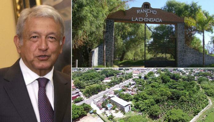 La Chingada: Rancho de AMLO beneficiado por remodelaciones en Palenque: Loret