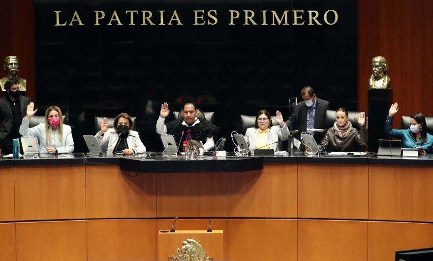 Senado da entrada a análisis de la reforma eléctrica.