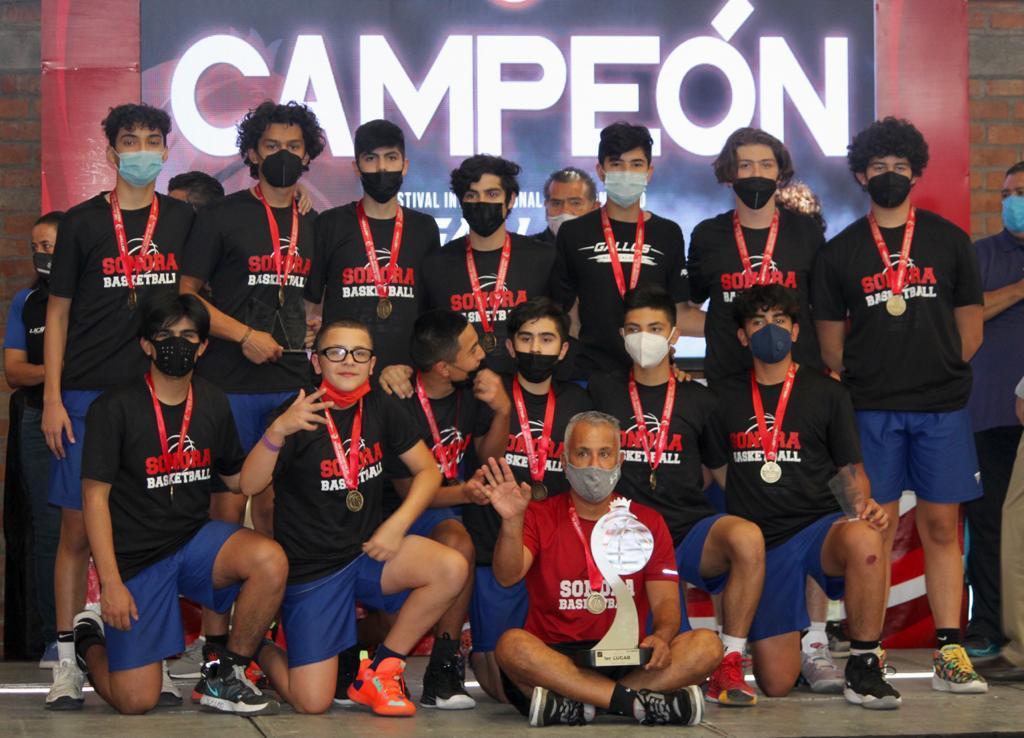 Campeones Nacionales de Baloncesto categoria 2006