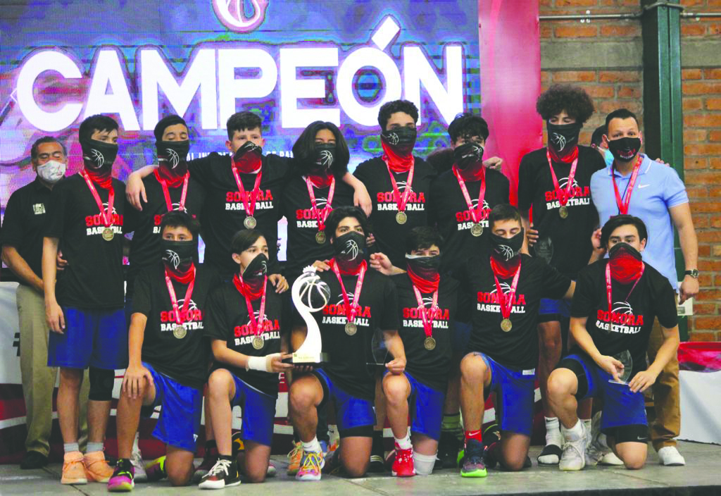 Triunfan Navojoenses en Campeonato Nacional de Baloncesto