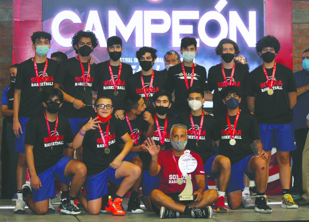 Campeones Nacionales de Baloncesto categoria 2007