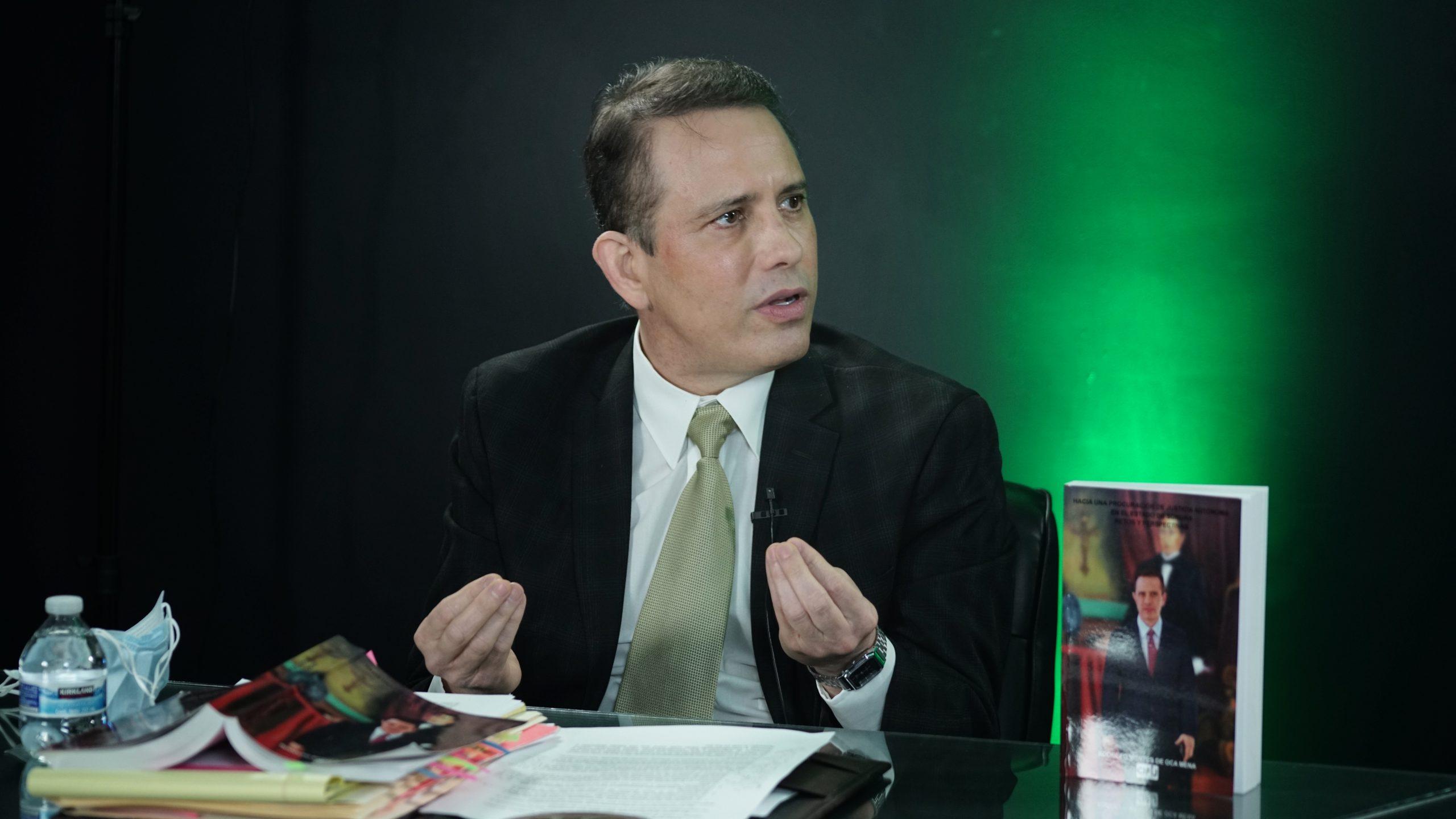 Renuncié a la Fiscalía porquequerían utilizarla para golpeteopolítico y no lo permití: Rodolfo Montes de Oca