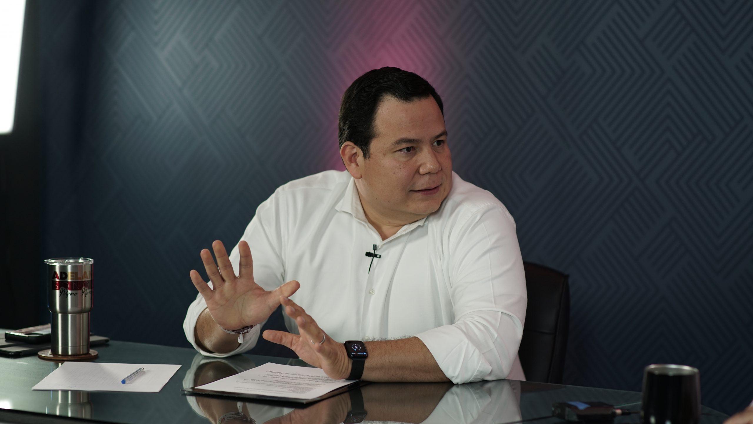 Se siente la llegadade un nuevo régimena Sonora: Guillermo Noriega
