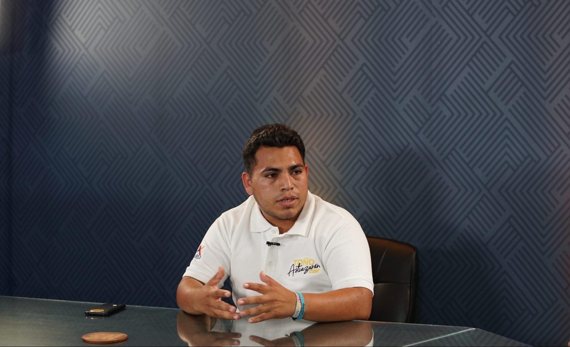 Antonio Astiazarán defenderá a los jóvenes de Hermosillo: Joel Hernández