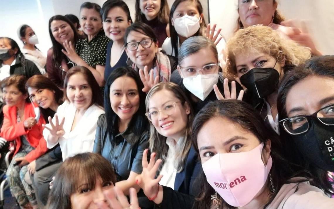 Morenistas exhortan al Congreso a aprobar iniciativas en materia de género