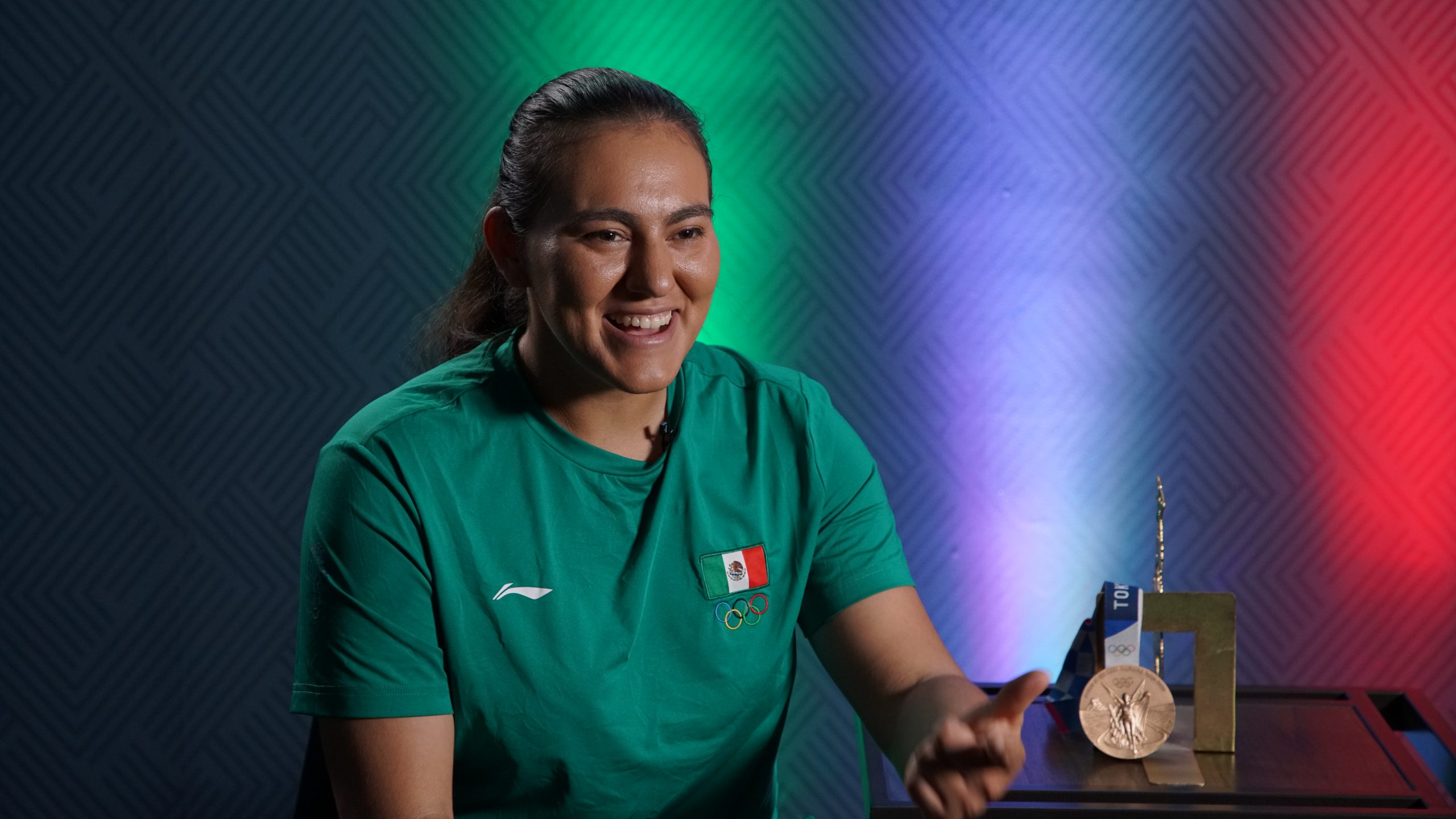 Es un orgullo representar a mi país ante los ojos del mundo: Alejandra Valencia, medallista olímpica