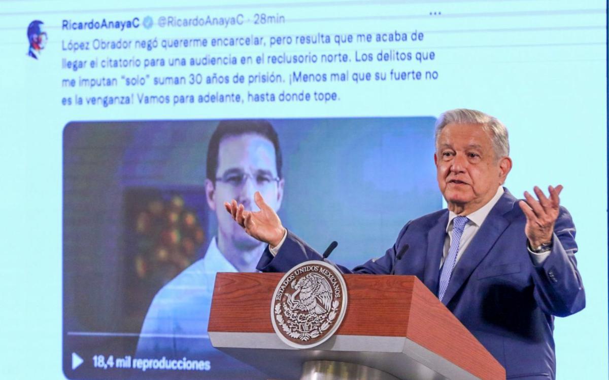 El exilio de Ricardo Anaya