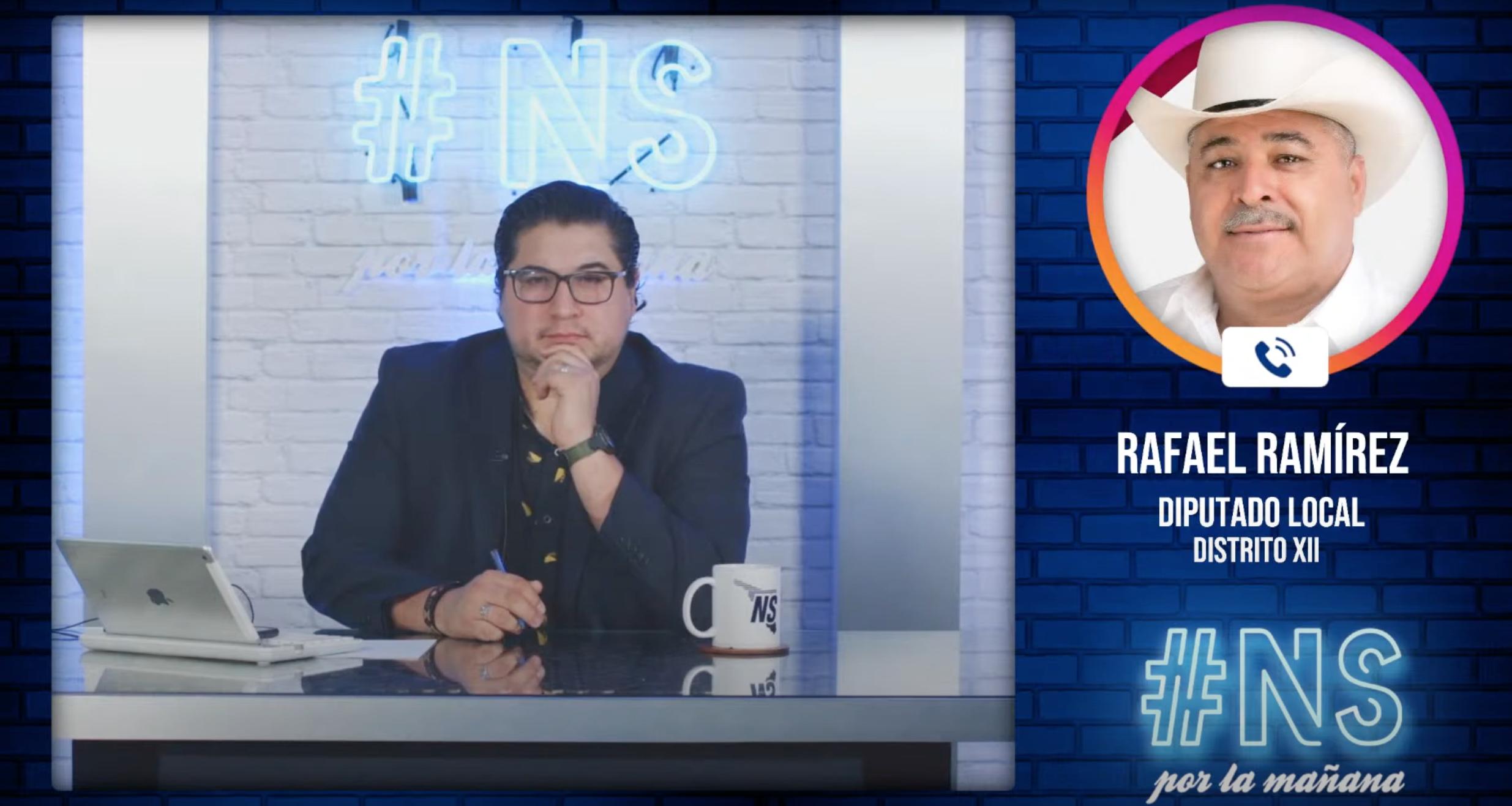 Seré un diputado a ras de suelo,ahí es donde está la verdad:Rafael Ramírez